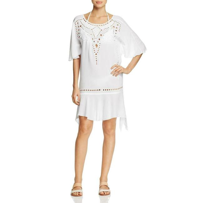 ViX short dress White Caftan Size S Caftan Size Small Swimsuit Coverup on Tradesy Image 2