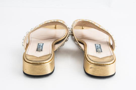 Prada Gold Sandals Image 4