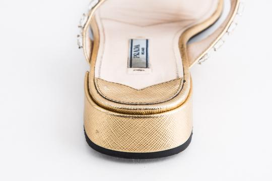 Prada Gold Sandals Image 9