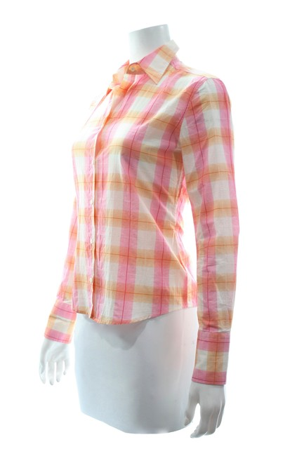 0039 Italy Button Down Shirt Multicolor Image 1