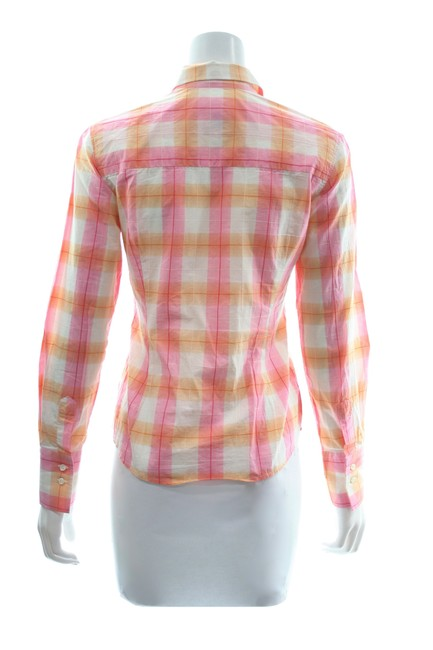 0039 Italy Button Down Shirt Multicolor Image 2