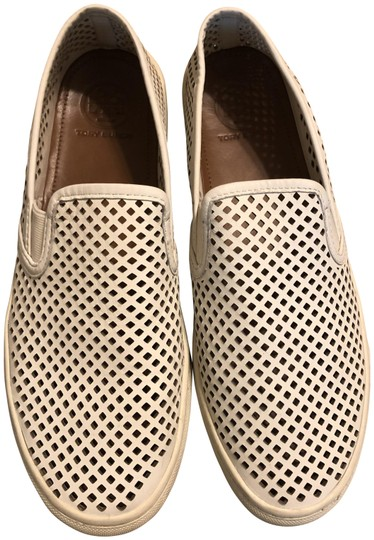 Tory Burch White Flats Image 0