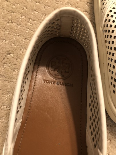 Tory Burch White Flats Image 2