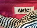 Amici Accessories black & white Clutch Image 3