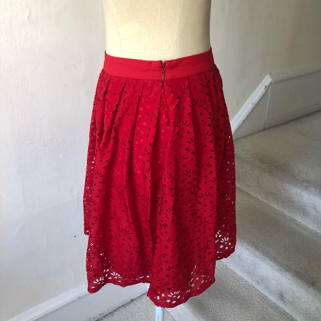 Urban Outfitters Mini Skirt red Image 1