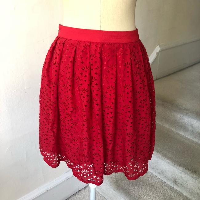 Urban Outfitters Mini Skirt red Image 2