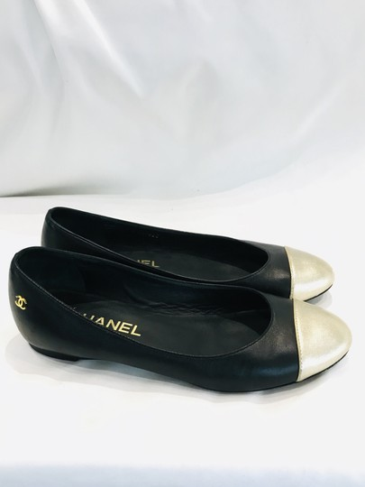 Chanel black Flats Image 2