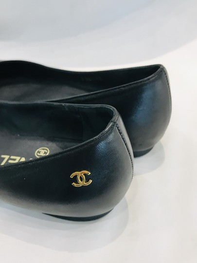 Chanel black Flats Image 5