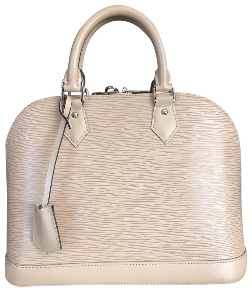 821e65742 Louis Vuitton Alma Pm Beige Epi Leather Satchel - Tradesy