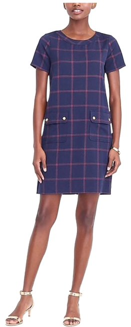 Preload https://img-static.tradesy.com/item/25241944/jcrew-blue-relaxed-printed-pocket-workoffice-dress-size-0-xs-0-1-650-650.jpg