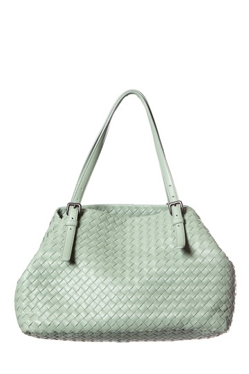 Bottega Veneta Tote in Green Image 10