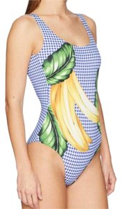 Onia Onia Kelly One-Piece (Royal Blue Multi) Swimsuits