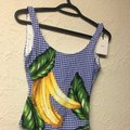 Onia Onia Kelly One-Piece (Royal Blue Multi) Swimsuits Image 1