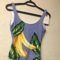 Onia Onia Kelly One-Piece (Royal Blue Multi) Swimsuits Image 2