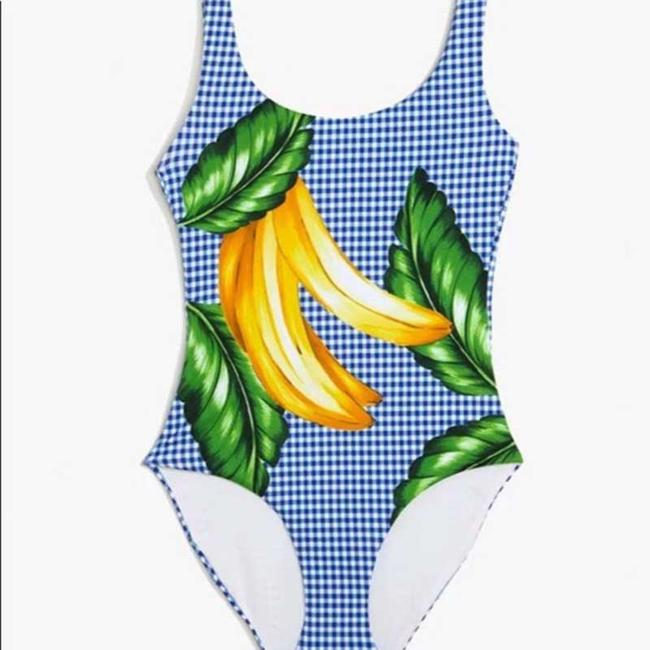 Onia Onia Kelly One-Piece (Royal Blue Multi) Swimsuits Image 3
