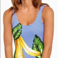 Onia Onia Kelly One-Piece (Royal Blue Multi) Swimsuits Image 6