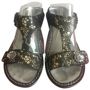 Alegria by PG Lite Pewter Mosaic Sandals