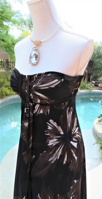 Brown Maxi Dress by White House | Black Market Image 2