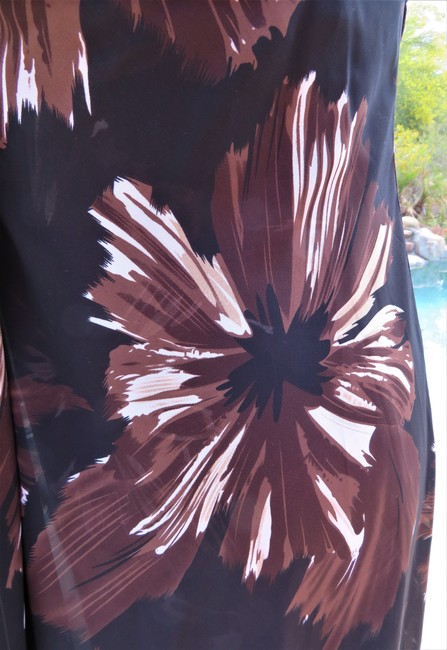 Brown Maxi Dress by White House | Black Market Image 3