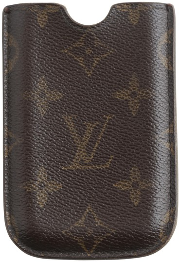 Preload https://img-static.tradesy.com/item/25242234/louis-vuitton-brown-monogram-canvas-iphone-4-case-tech-accessory-0-1-540-540.jpg
