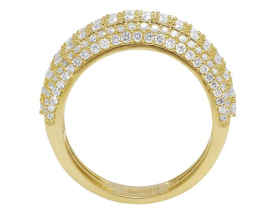 Jewelry Unlimited Men's 10K Yellow Gold Real Diamond Wedding Band Ring 2.60 CT 10MM Image 1