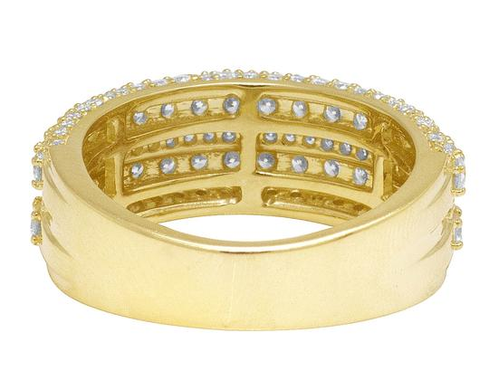 Jewelry Unlimited Men's 10K Yellow Gold Real Diamond Wedding Band Ring 2.60 CT 10MM Image 5