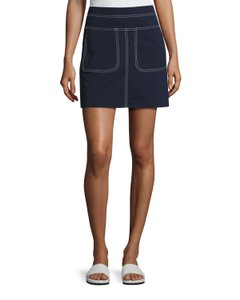 Tory Sport by Tory Burch Mini Summer Mini Skirt Navy