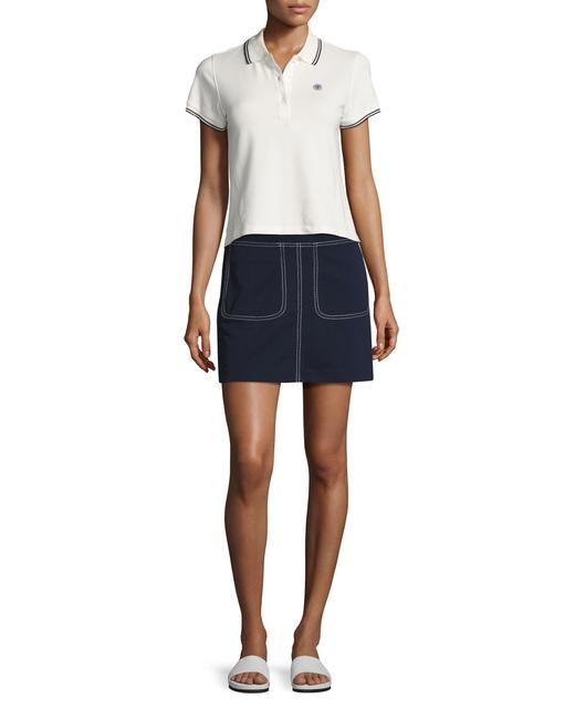 Tory Sport by Tory Burch Mini Summer Mini Skirt Navy Image 1