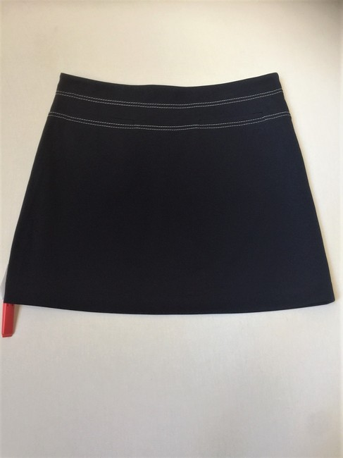 Tory Sport by Tory Burch Mini Summer Mini Skirt Navy Image 4