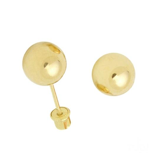 Preload https://img-static.tradesy.com/item/25242316/yellow-3mm-high-polish-14k-ball-stud-earrings-0-0-540-540.jpg