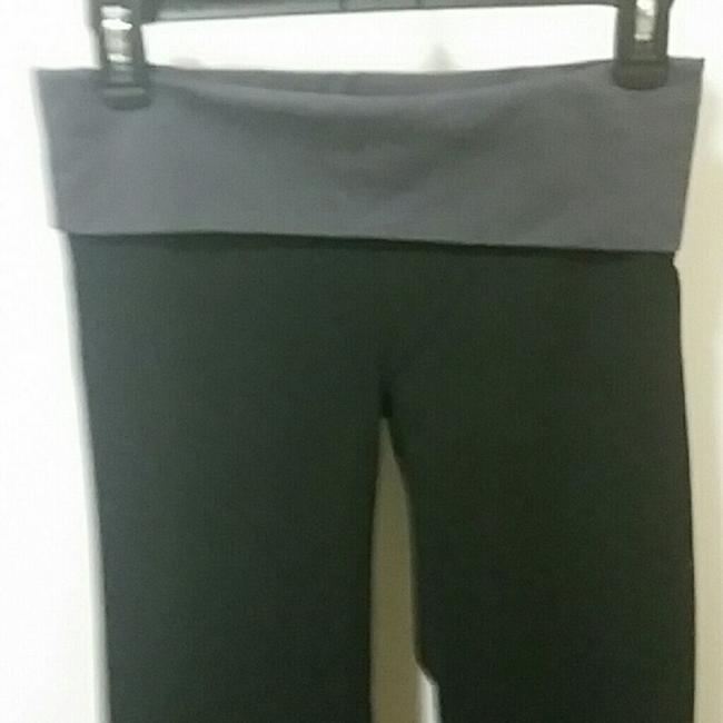 Victoria's Secret Boot Cut Pants Black Gray Image 2