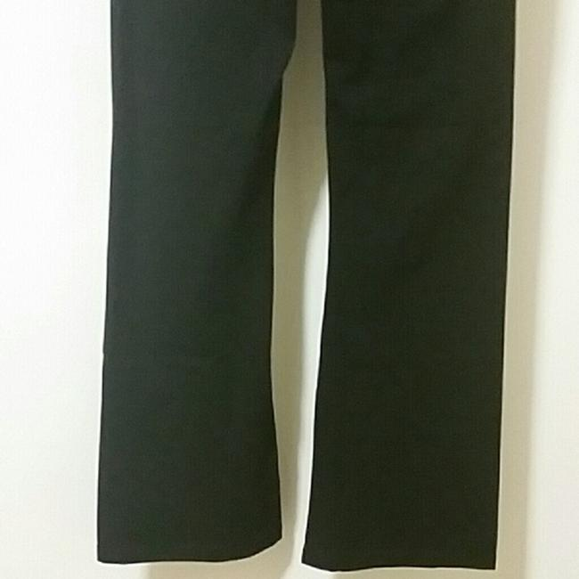 Victoria's Secret Boot Cut Pants Black Gray Image 3