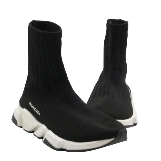 Balenciaga Speed Runners Sneakers Mens Black Athletic Image 0