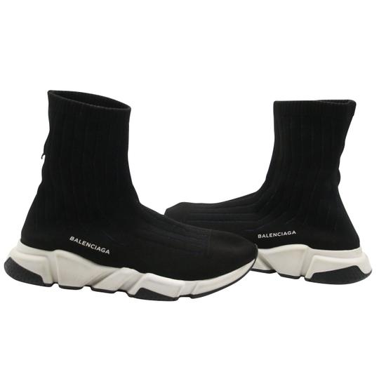 Balenciaga Speed Runners Sneakers Mens Black Athletic Image 3