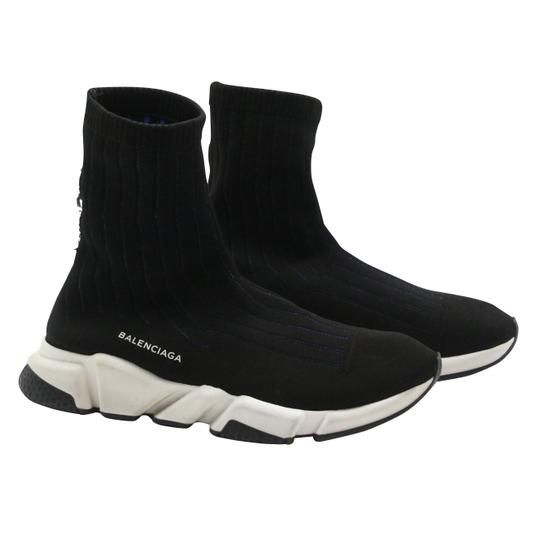Balenciaga Speed Runners Sneakers Mens Black Athletic Image 4