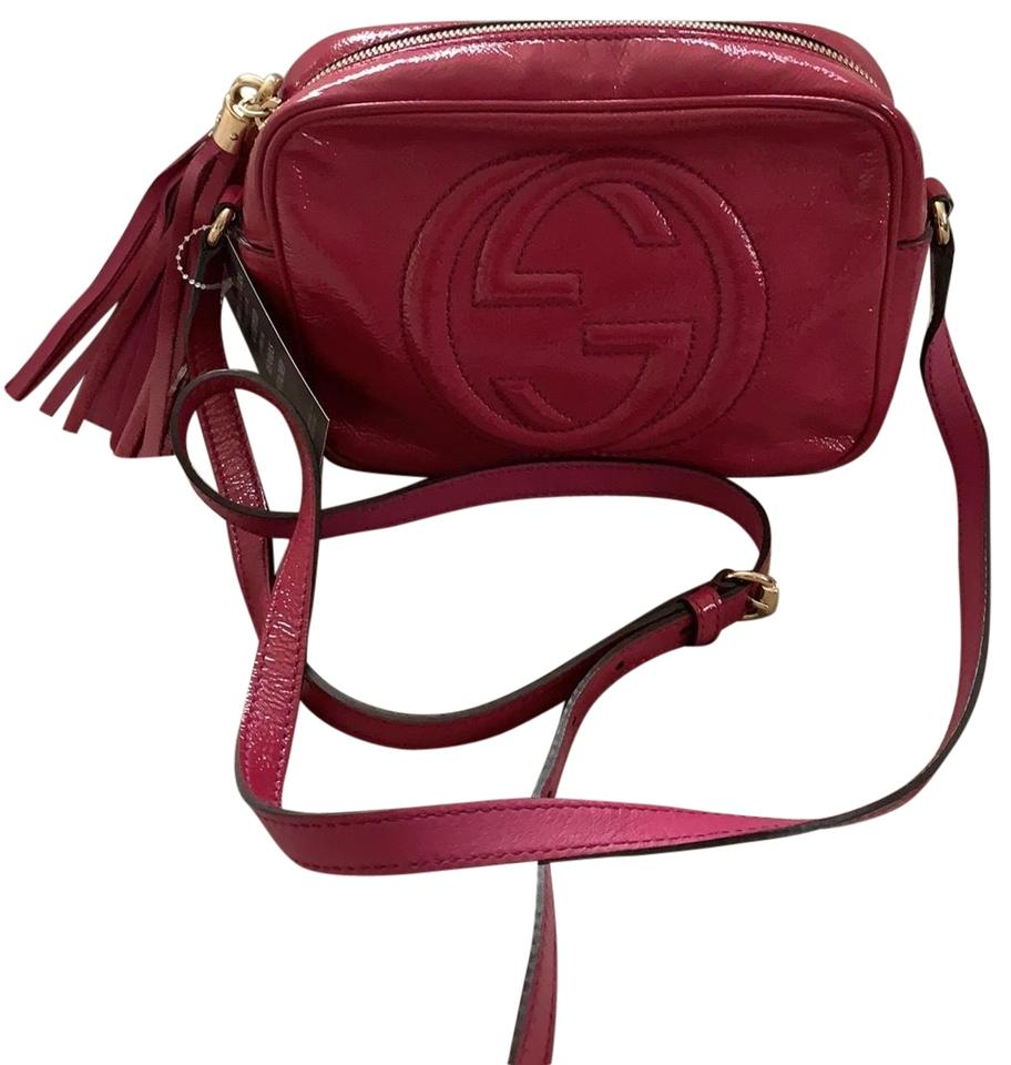6a03a3db6e1b Gucci Soho Disco Patent Leather Cross Body Bag - Tradesy