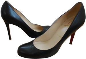 Christian Louboutin Simple 100mm Black Pumps