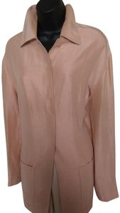 Dana Buchman Peach Color Jacket