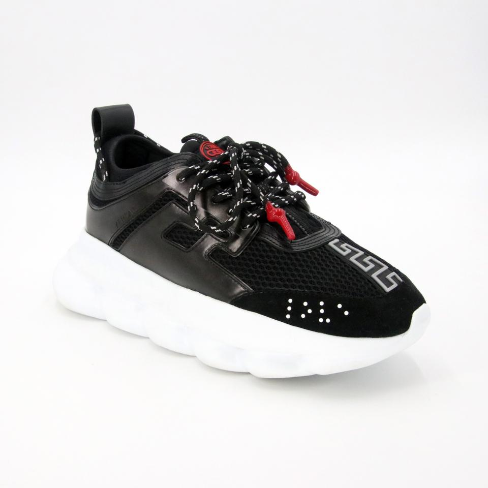 67291fa7 Versace Black Mens Chain Reaction Sneakers Size EU 42 (Approx. US 12)  Regular (M, B) 44% off retail