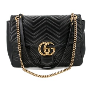 269a75965705 Added to Shopping Bag. Gucci Gg Purse Leather Purse Summer Shoulder Bag. Gucci  Marmont Gg 2.0 Medium Quilted Black Calfskin ...