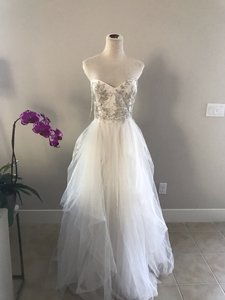 2b42a7afc6 Reem Acra Roses By Ivy Formal Wedding Dress Size 12 (L) - Tradesy
