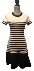 Kate Spade short dress Black/Off White on Tradesy
