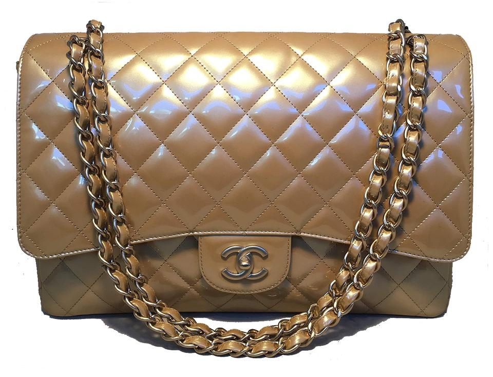 f4879707fb73 Gold Patent Leather Chanel Bags - 70% - 90% off at Tradesy