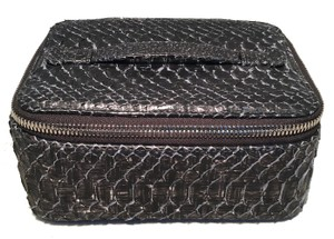Chanel Chanel Python Snakeskin Jewelry Travel Pouch Case with Accessories