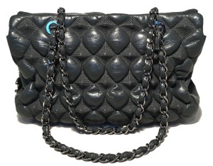 11a2b9848036 Chanel Shopper Sample 3d Leather Puffy Leather Tote in grey