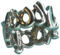 Tiffany & Co. Paloma Picasso Love Kisses Ring Size 4.25