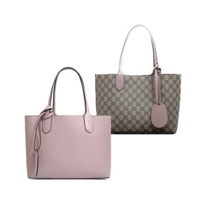 Gucci Mauve Leather Gg Tote in Pink