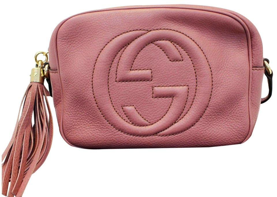 87ba5eac5b6dd Gucci Soho Disco Pebbled Leather Small 308364 Cross Body Bag - Tradesy