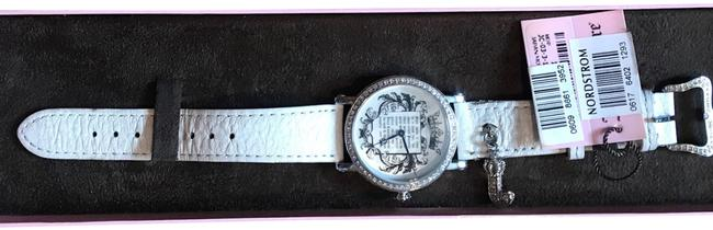 Item - White and Stainless Steel Queen Leather Watch