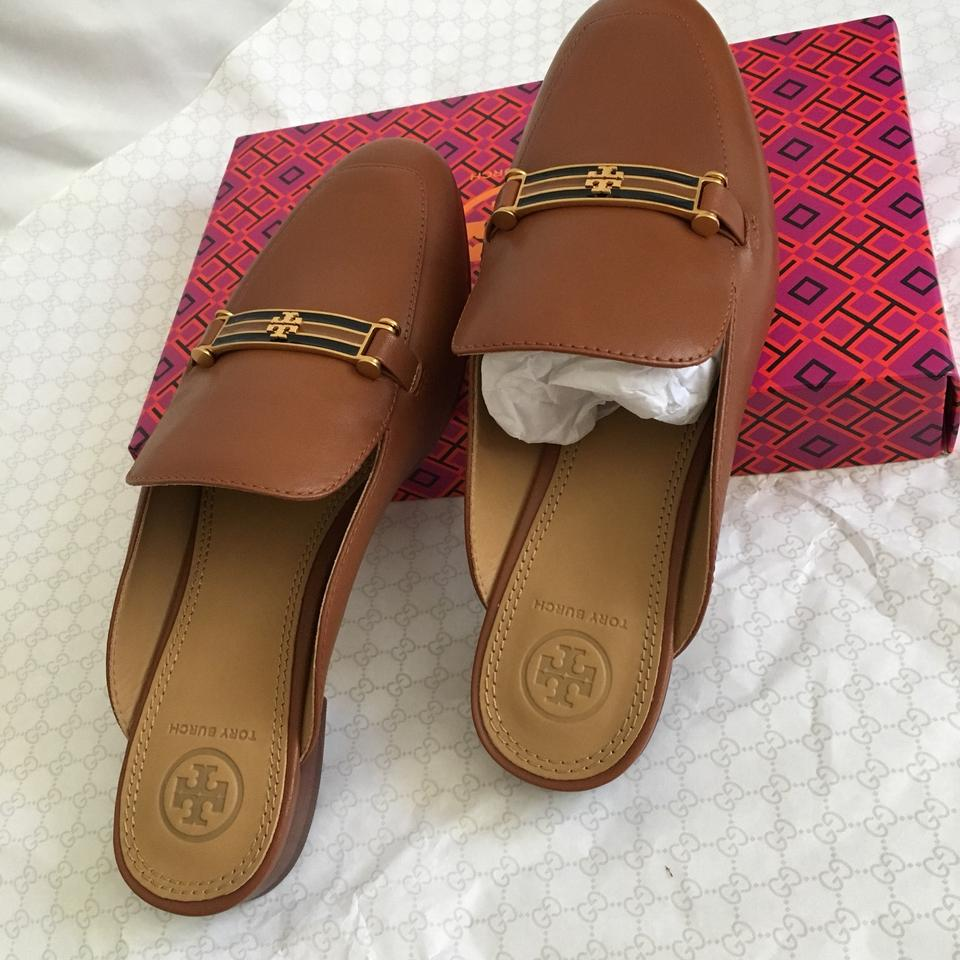 cd5fa91bca9 Tory Burch Tan Amelia Backless Loafer Sandals Size US 7.5 Regular (M ...
